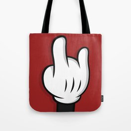Cartoon Rock and Roll Tote Bag