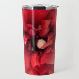 red spring flower Travel Mug