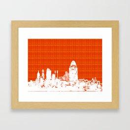 Cincinnati, Oh skyline   Framed Art Print