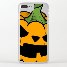 PUMPKIN spice Clear iPhone Case