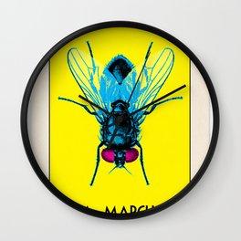BB LOTERIA CARD No.50 - Fly Wall Clock