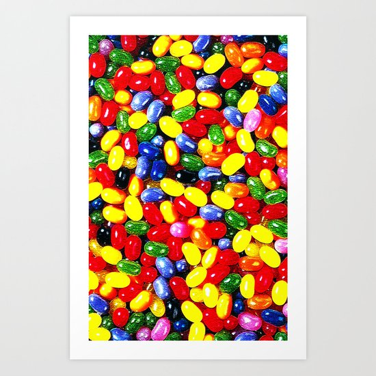 JELLY BEANS - For IPhone - Art Print