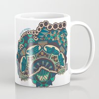 glass Mugs featuring Glass by J. Fuller
