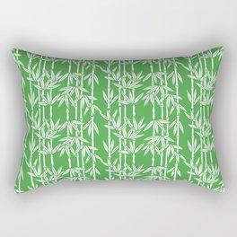 Bamboo Rainfall in Sullivan Green/White Rectangular Pillow