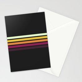 Chohichi - Classic 80s Retro Stripes Stationery Cards