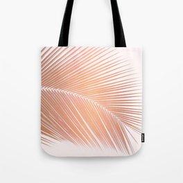 Palm leaf - copper pink Tote Bag