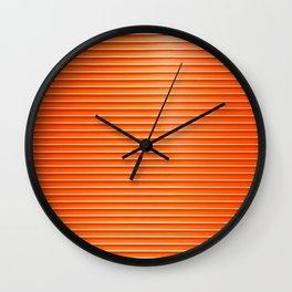 Rollin' Doors Wall Clock