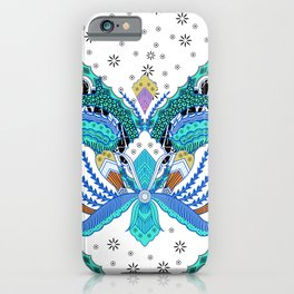 Indonesian batik artwork iPhone Case
