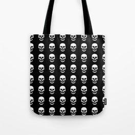 Heart Skulls Tote Bag