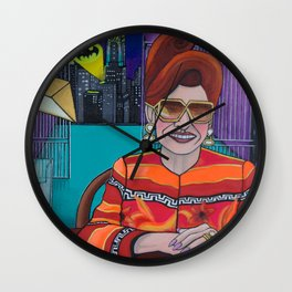 Librarian Lady Wall Clock