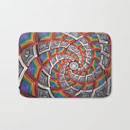 Tunnel To The Moon Bath Mat