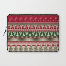 Pine Tree Ugly Sweater Laptop Sleeve
