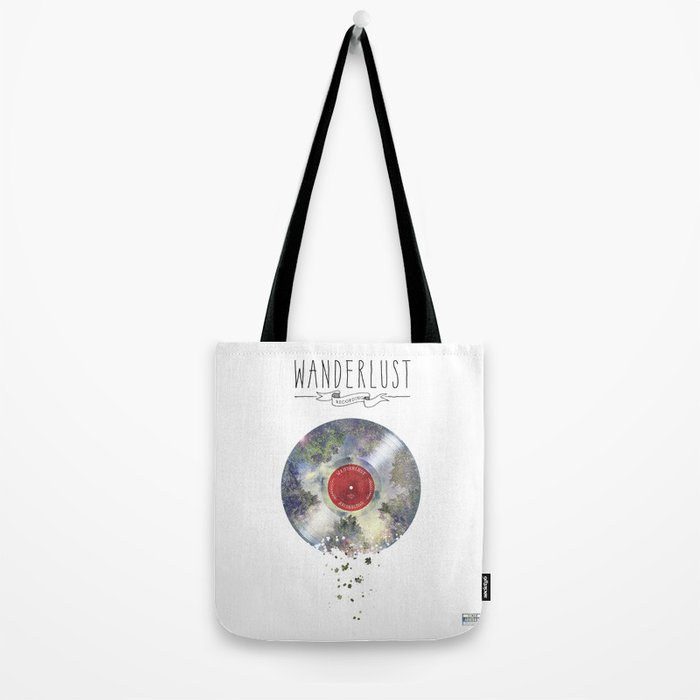 Wanderlust recordings Tote Bag