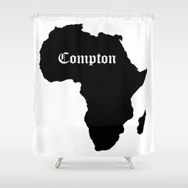 Compton 1 Shower Curtain