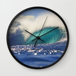 Pipeline Perfection Wall Clock