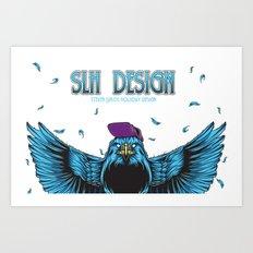 SLH Hawk  Art Print