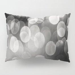 Bokeh Light In Black And White #decor #society6 Pillow Sham