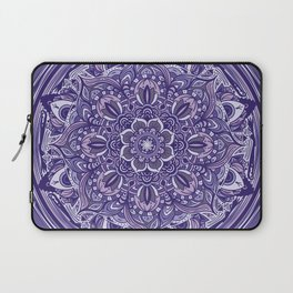 Great Purple Mandala Laptop Sleeve