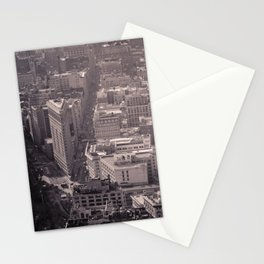 New York City #newyork #blackwhite #flatiron #NYCarchitecture #NYC #Manhattan #bw #empirestate Stationery Cards