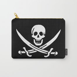 Pirate Flag Skull and Crossed Swords Jolly Roger Carry-All Pouch