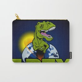 T Rex Dinosaur in the planet Carry-All Pouch