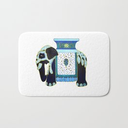 Bombay Blue Bath Mat