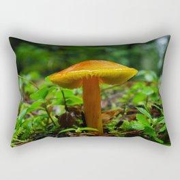 Tiny Toadstool Mushroom Rectangular Pillow