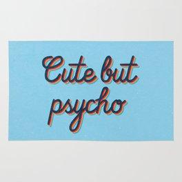 Cute but Psycho Rug