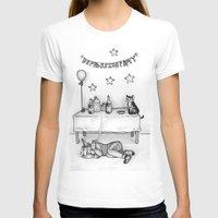 depression T-shirts featuring Depression Party by Panic Volkushka
