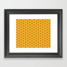 Vandenbosch Yellow Framed Art Print