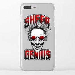 Sheer Genius Clear iPhone Case