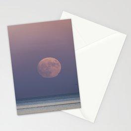 Sunset Moonrise Stationery Cards