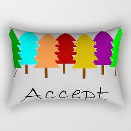 Accept Rectangular Pillow