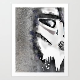 The Trooper Art Print