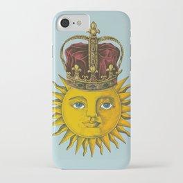 Vintage Sun Emperor  iPhone Case