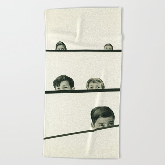 Hide and Seek Beach Towel
