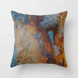 Pier Patina Throw Pillow