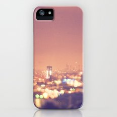 Everyone's a Star. Los Angeles skyline at night photograph. iPhone (5, 5s) Slim Case