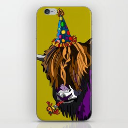 Party Yak iPhone Skin