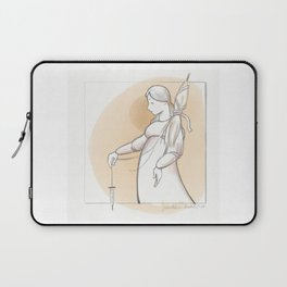 Saint Distaff's Day Laptop Sleeve