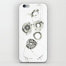Danseuse Spiral iPhone & iPod Skin