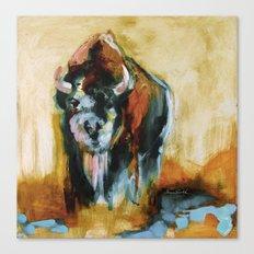 Blue Buffalo Canvas Print
