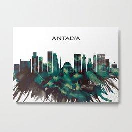 Antalya Skyline Metal Print