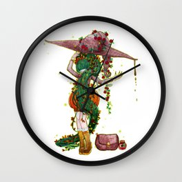 Poisonous witch by Studinano Wall Clock