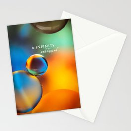 to infinity Stationery Cards