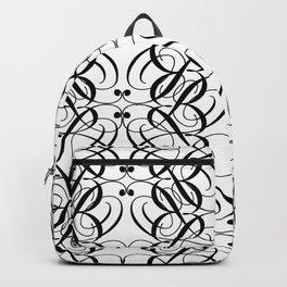 LETTERNS - B - Edwardian Script Backpack