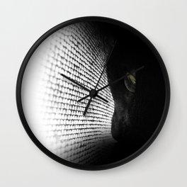 Loko's Dark Intentions: Dark Versus Light 1 Wall Clock