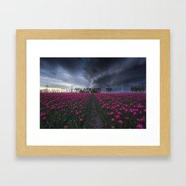 Storm incoming -Netherlands Framed Art Print