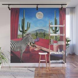 Saguaro Stripes Wall Mural