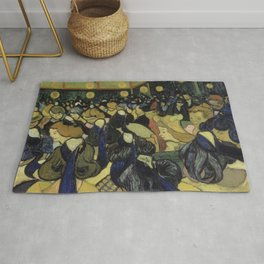 The Dance Hall in Arles Rug